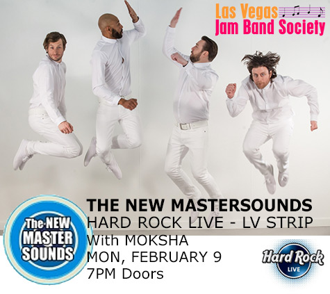 New Mastersounds 4-9-2015 - Hard Rock Live LV